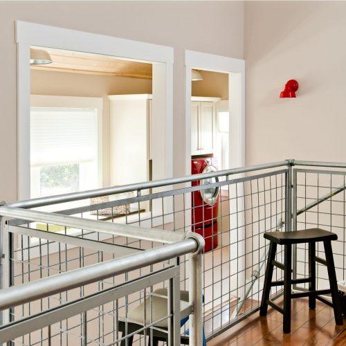 VISION House - PRINT-9 loft railing